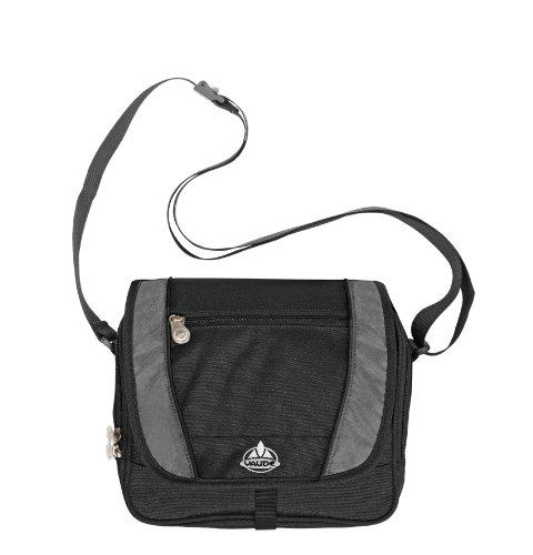 Vaude Atlanta 6 L Shoulder Bag, Black/Anthracite, Outdoor Stuffs