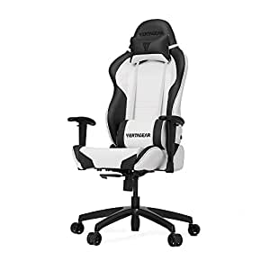 Vertagear S-Line SL2000 Racing Series Gaming Chair - White/Black (Rev. 2)