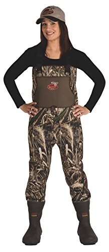 Waterfowl Wading Systems WFW18807W-9 Women's Max-5 Neoprene Bootfoot Wader