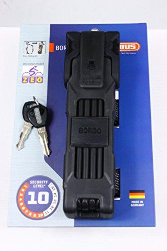 ABUS 6310/90 Bordo exclusiv Fahrradschloss Level 10