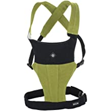 Belle Baby Organic Carriers with Head Support, Organic Moss (Discontinued by Manufacturer)
