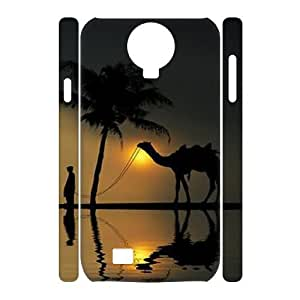 Camel 3D-Printed ZLB598344 Brand New 3D Cover Case for SamSung Galaxy S4 I9500