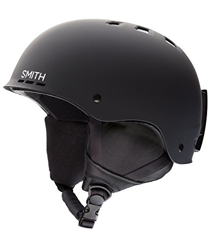 New Ski Skate (Smith Optics Holt Helmet,Matte Black,Medium)