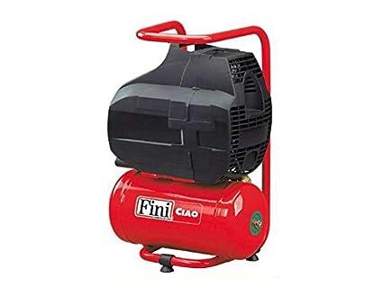 Fini 3824 FOBB304FNM003 Ciao Compresor Coaxial, rojo, ...