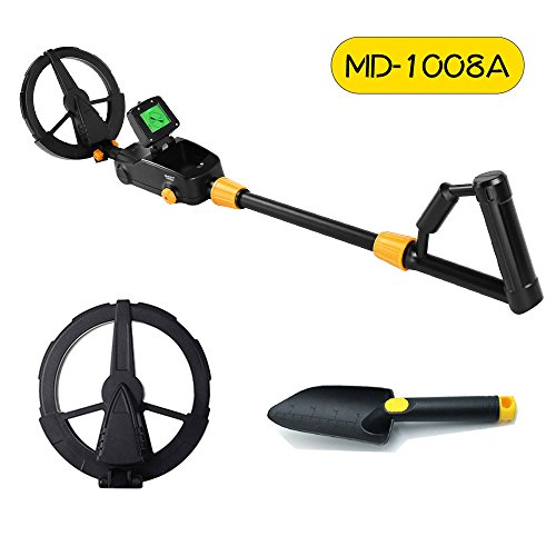 Metal Detector MD-1008A Advanced Kid's Gold Finder Treasure Hunter Pro Detector by KingDetector
