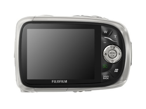 Fujifilm FinePix XP10 12 MP Waterproof Digital Camera with 5x Optical Zoom and 2.7-Inch LCD (Silver) by Fujifilm (Image #1)
