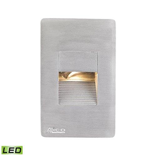 Elk Lighting WLE1106C30K-10-98 Aperture Step Light in Aluminum with White Opal Lens - LED Under Under Cabinet/Utility, ()