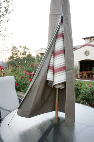Premium Tight Weave Outdoor Patio Umbrella Cover   Heavy Duty UV Treated  And Water Resistant