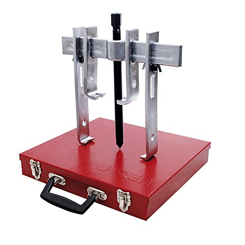 URREA 4238B  Straight 2 Way Jaw Puller  10 Ton with Metal Box, 8-Piece