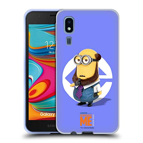 Official Despicable Me Kevin Beard Costume Minions Soft Gel Case Compatible for Samsung Galaxy A2 Core (2019)
