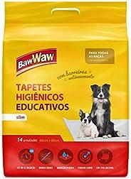 Baw Waw Tapetes Higiênicos Slim para cães 14 unidades