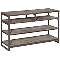 Home Styles 5053-06 Barnside Metro Entertainment Console, Gray Finish