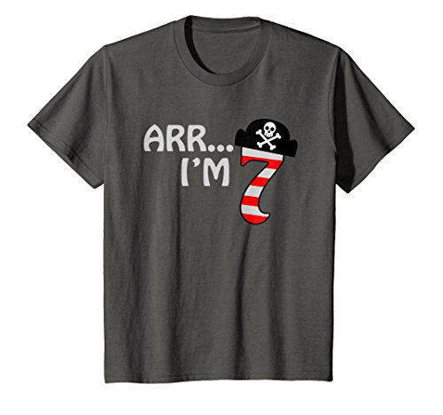 Price comparison product image Kids Arr I'm 7 Shirt | Little Sea Rover 7th Birthday Tee Gift