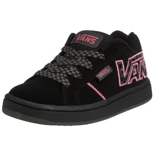 Vans Widow (correttore) Scarpe Da Skate Da Bambino Nero / Rosa Taglia 12,5