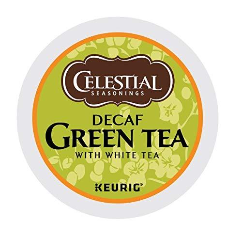 Celestial Seasonings Decaf Green Tea, K-Cup Portion Pack for Keurig K-Cup Brewers, 24-Count (Pack of 2) - Packaging May Vary by Celestial Seasonings