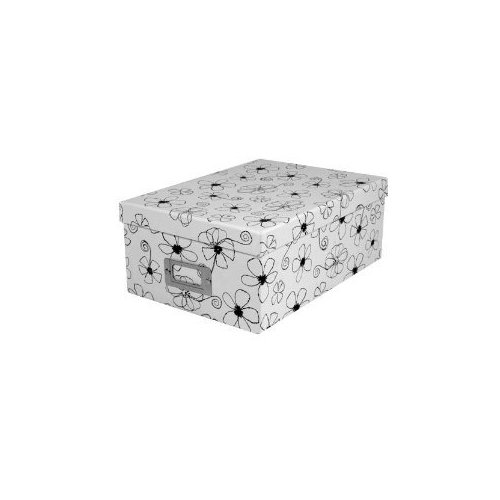 Pioneer B1BW Photo Storage Box, Black & White FBA_PB1BW