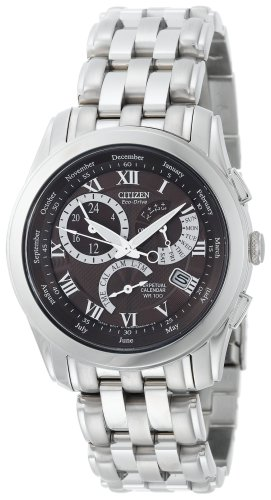 Citizen Men's BL8000-54X Eco-Drive Calibre 8700 Stainless Steel Sport Watch ()