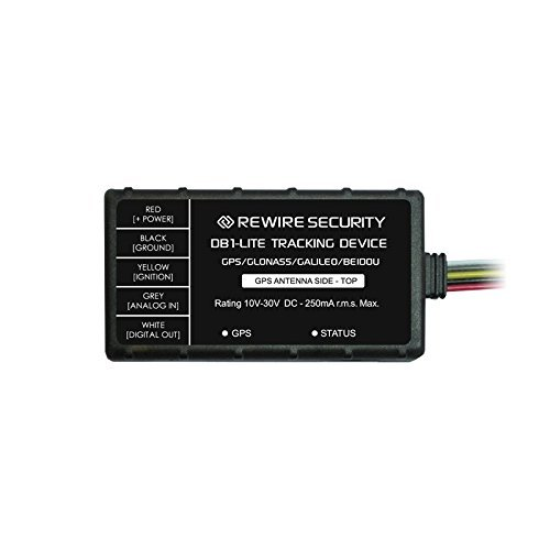 GPS Tracker Genuine Rewire Security DB1 Lite GLONASS/GSM Car Motorbike Vehicle Tracking Telematics Device