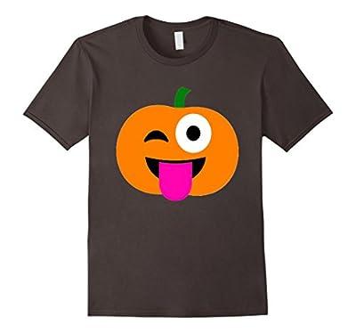 Pumpkin Shirt Emoji Halloween Costume