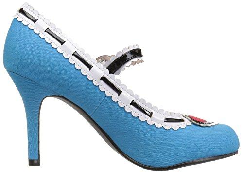 Women's Ellie Alise Maryjane Shoes Pump Blue 406 RqAngUxwq