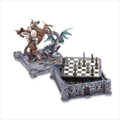 VERDUGO GIFT Dragon & Knight Chess Set by VERDUGO GIFT