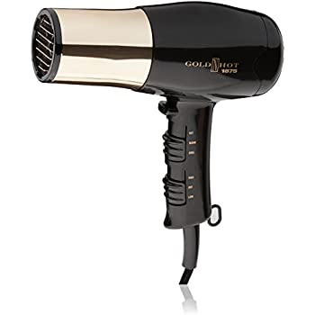 Gold N Hot GH8135 Professional 1875-Watt Dryer with Styling Pik