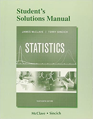 Student S Solutions Manual For Statistics