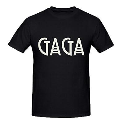 DIYCloTH Men's Famous singer Lady Gaga Short Round T-shirt