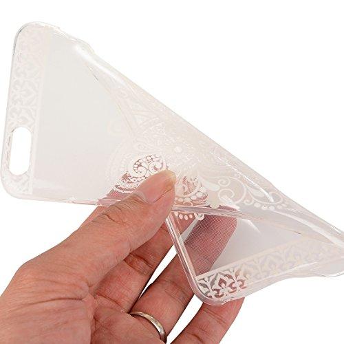 Phone Taschen & Schalen Für iPhone 6 Plus & 6s Plus Abstrakt Wolf Kopf Muster TPU Schutzhülle ( SKU : IP6P2347L )