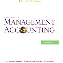 Amazon charles t horngren managerial accounting books introduction to management accounting chs 1 17 15th edition fandeluxe Choice Image