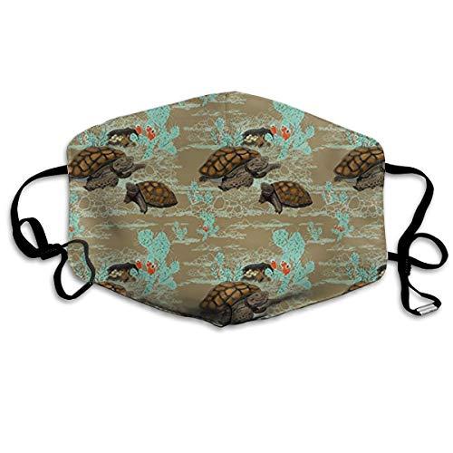 JSRKLB Desert Tortoise in Brown Motorcycle Face Masks Unisex All Members Mask Mask