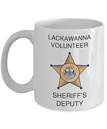 Umabum Lackawanna County Sheriff's Department Mug Coffee Mug, Funny, Cup, Tea, Gift For Christmas, Father's day, Xmas, Dad, Anniversary, Mother's day