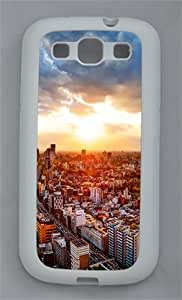 View From The Google Offices In Downtown Tokyo TPU Case Cover for Samsung Galaxy S3 I9300 White