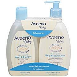 Image of the product Aveeno Baby Gentle that is listed on the catalogue brand of Aveeno Baby. The product has been rated with a 4.8 over 5