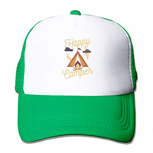Rangers Team Snowman - AiguanHappy Camper Sun Protection Adjustable Caps Quick Dry Mesh Hat Green