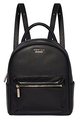 MODALU() Maddie - Bolsos mochila Mujer Negro (Black)