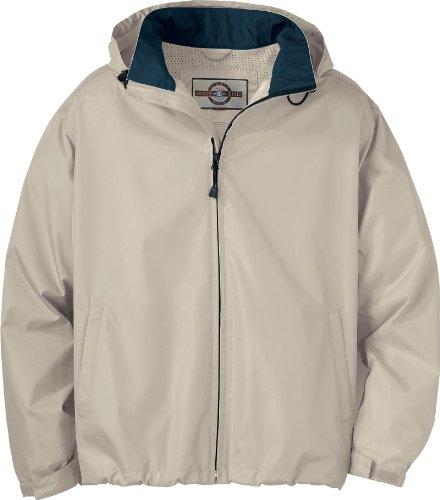 Mens Techno Lite Jacket - North End Mens Techno Lite Jacket. 88083 - XXXX-Large - Putty / Midnight Navy