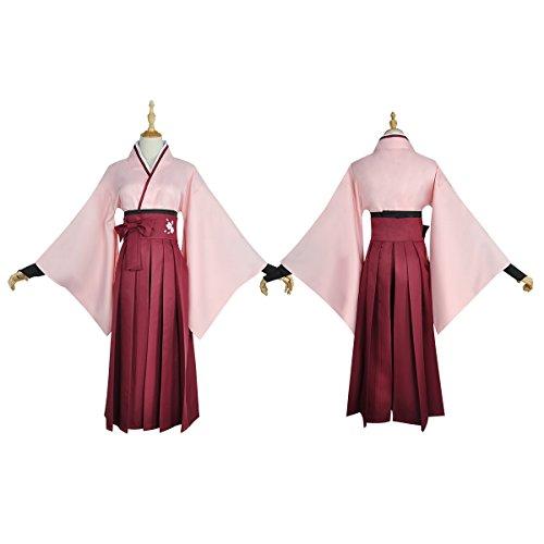 [No Brand Women's 3654Fate/Grand Order: Saber Souji Okita Cosplay (XS)] (Okita Souji Cosplay Costume)