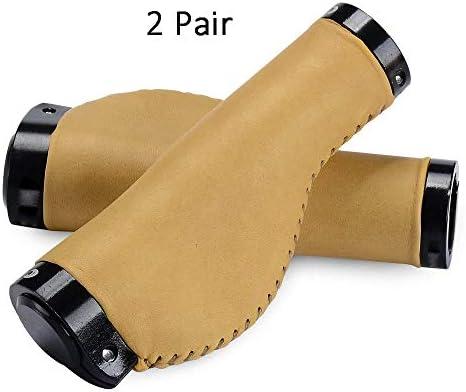 Empuñadura de manillar de bicicleta Horn Shock Absorbent Soft PU ...