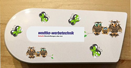 Grafix–Pegatina para Cook Key Búhos marrón