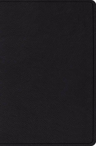 The Holy Bible: English Standard Version, Black, Top Grain Leather, Verse-by-Verse Reference Bible