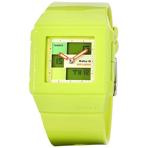Casio Baby-G Green Dial Plastic Strap Ladies Watch BGA2003EDR