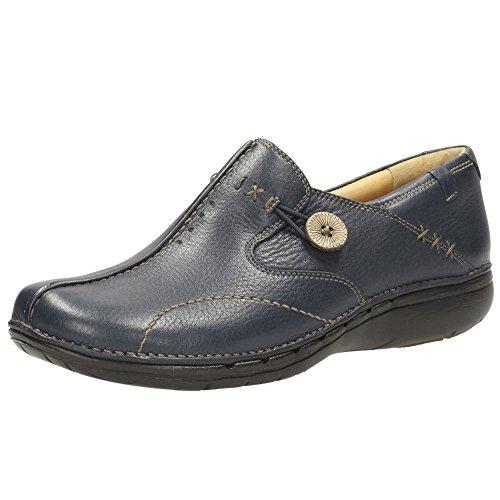 Clarks Clarks Casual Mujer Un Loop Piel Zapatos De Weite Passform Tamaño 37½