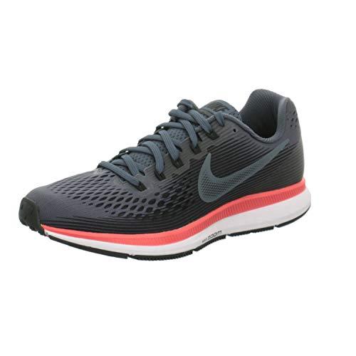 Nike Men's Air Zoom Pegasus 34, Blue Fox/Black-Bright Crimson, 6 M US by Nike (Image #5)
