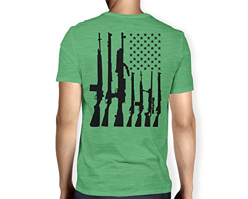 Mens American Machine V neck T shirt