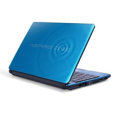 "Acer Aspire One D270 AOD270-1865 Intel Atom N2600 X2 1.6GHz 1GB 320GB 10.1"" Win7 (Blue) from Acer"