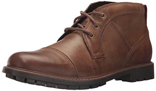Leather Men's Brown Boot Currington Top CLARKS Chukka U6vpqPwYq