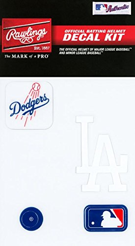 Rawlings Sporting Goods MLBDC Decal Kit, Los Angeles Dodgers