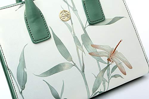 Dragonfly Cinese Vento Tracolla Piccola Bianca Borsa Hqq Fresca Donna A Moda Mano Diana Style 6w6ASqxv7