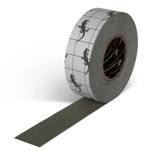 "Incom Gator Grip: Anti-Slip Tape, 2"" x 60', Gray"